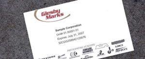Glesby Marks National Fleet ID Card
