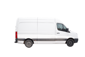 White van for Portland commercial vehicle leasing